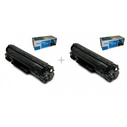 SET 2 BUC. HP CE285A/ CB435A/ CB436A SMART INK UNIVERSAL
