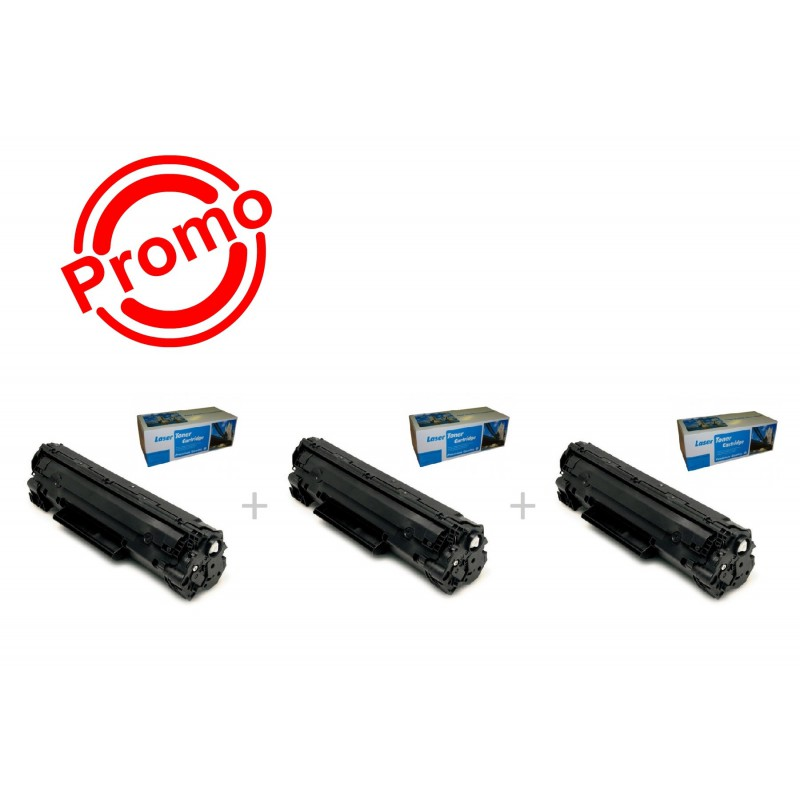 SET 3 BUC. X Cartus SMART INK HP CE285A