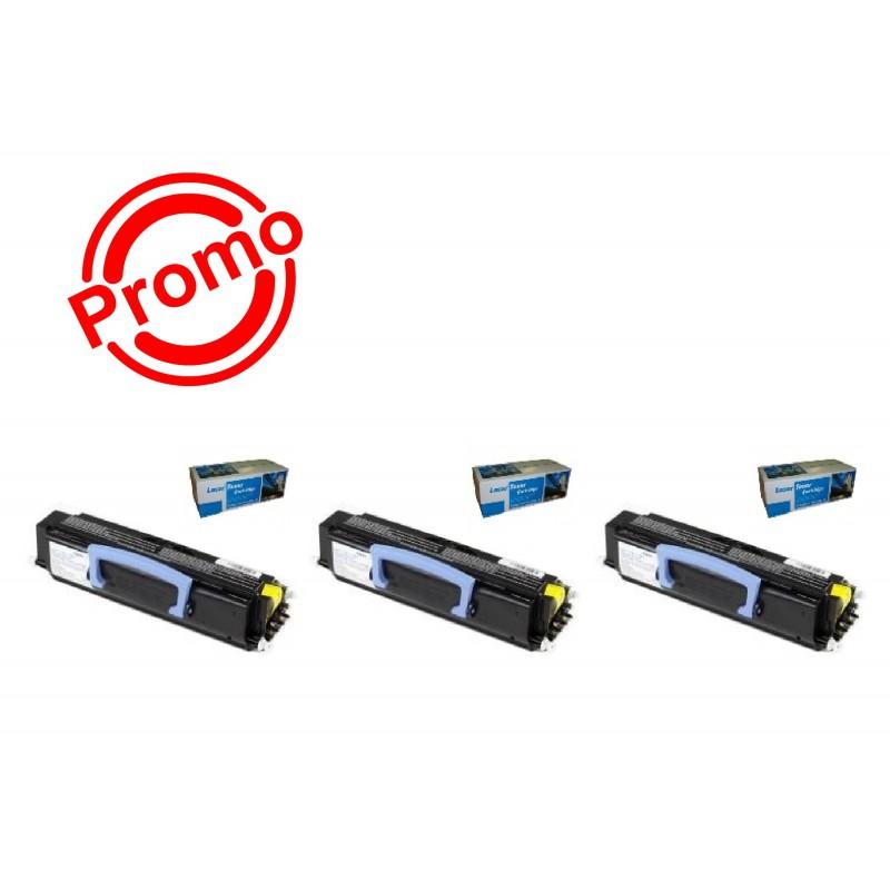 SET 3 BUC. X Cartus SMART INK LEXMARK E230/ E232/ E240/ E330/ E340/ E342