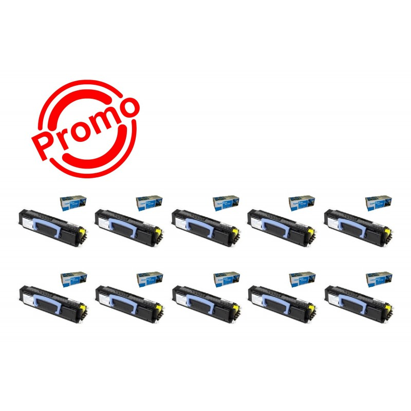 SET 10 BUC. X Cartus SMART INK LEXMARK E230/ E232/ E240/ E330/ E340/ E342