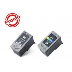 SET 2 BUC. X Cartus SMART INK CANON PG-40 + CL-41