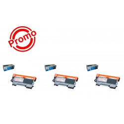 SET 3 BUC. X Cartus SMART INK BROTHER TN2010/ TN2030/ TN2060