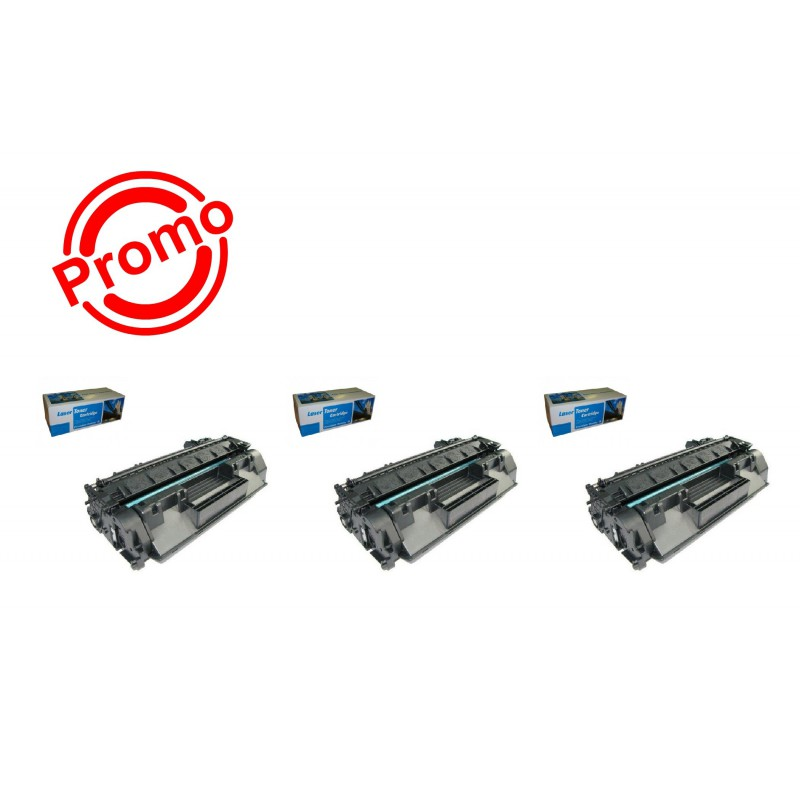 SET 3 BUC. X Cartus SMART  HP CE505A / 05A